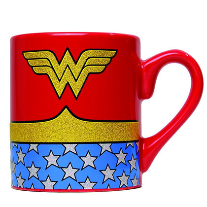 Tasse Wonder Woman Glitter