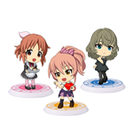 The Idolmaster Cinderella Girls ChiBi Minifiguren 6 cm Sortiment Passion II (10)