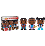 WWE Wrestling POP! WWE Vinyl Figuren Dreierpack Big E, Xavier Woods & Kofi Kingston 9 cm