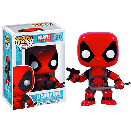 Actionfigur Deadpool Funko Pop Marvel Bobble Head