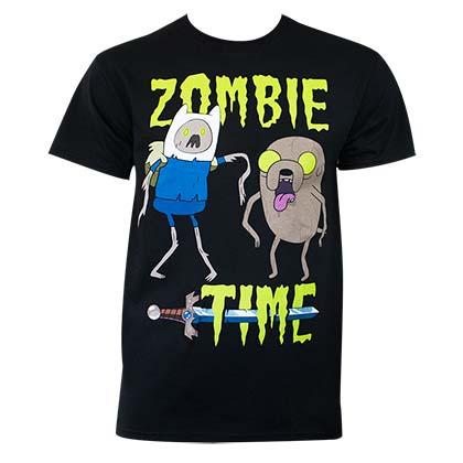 T Shirt Adventure Time Zombie Time Original Online
