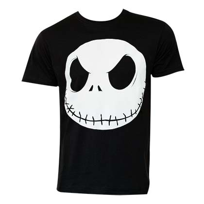 T-Shirt Nightmare before Christmas für Glow in the Dark