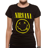 T-Shirt Nirvana - Smiley