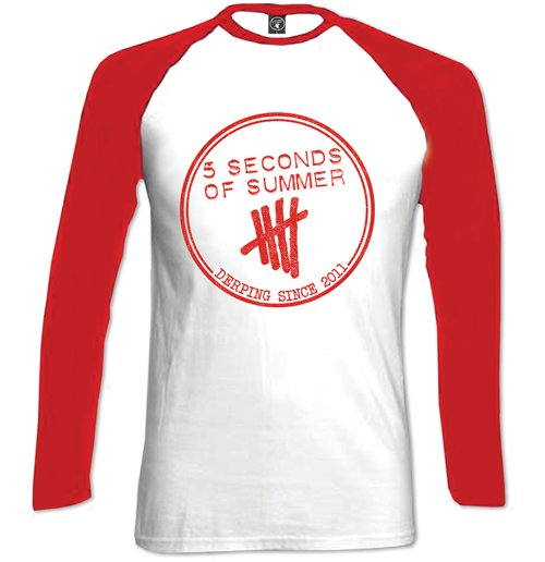 langärmeliges T-Shirt 5 seconds of summer 251841