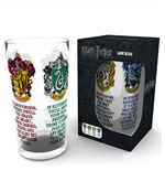 Glas Harry Potter - House Crest