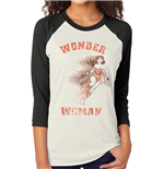 T-Shirt Wonder Woman Retro