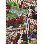 Heft Marvel Superheroes (Montage A5 Notebook