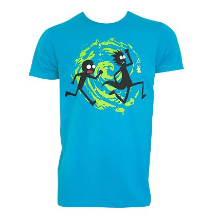 T-Shirt Rick and Morty Swirl