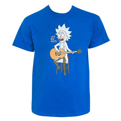 T-Shirt Rick and Morty für Männer