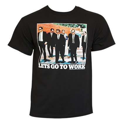 T-Shirt Reservoir Dogs Let's Go to Work