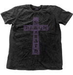 T-Shirt Black Sabbath Vintage Cross