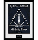 Bilderrahmen Harry Potter - The Deathly Hallows. 30 x 40 cm.