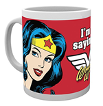 Tasse DC Comics - wonder Woman Not Saying
