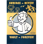 Poster Fallout 4 - Vault Forever.