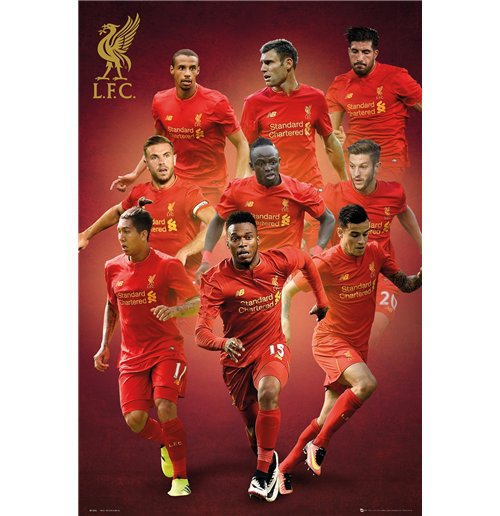 Poster Liverpool FC - Players - 61 x 91,5 cm