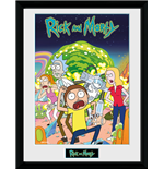 Kunstdruck Rick and Morty 253587