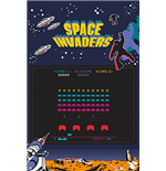 Poster Space Invaders  253621