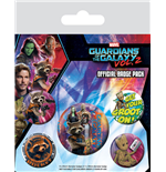 Guardians of the Galaxy Vol. 2 Ansteck-Buttons 5er-Pack Rocket & Groot
