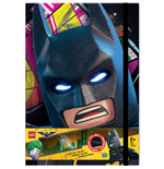 LEGO Batman Movie Notizbuch mit Leuchtfunktion
