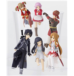 Sword Art Online Putitto Series Sammelfiguren 6 cm Sortiment (8)