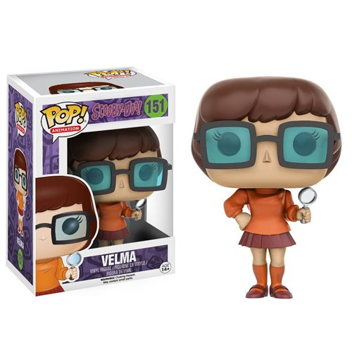 Scooby Doo POP! Animation Vinyl Figur Velma 9 cm