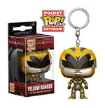 Power Rangers Pocket POP! Vinyl Schlüsselanhänger Yellow Ranger 4 cm