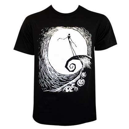 T-Shirt Nightmare before Christmas für Männer