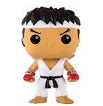 Street Fighter POP! Games Vinyl Figur Ryu White Headband 9 cm
