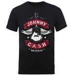 T-Shirt Johnny Cash Winged Guitar