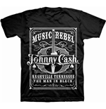 T-Shirt Johnny Cash Music Rebel