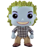 Beetlejuice POP! Movies Vinyl Figur Beetlejuice Check Shirt 9 cm