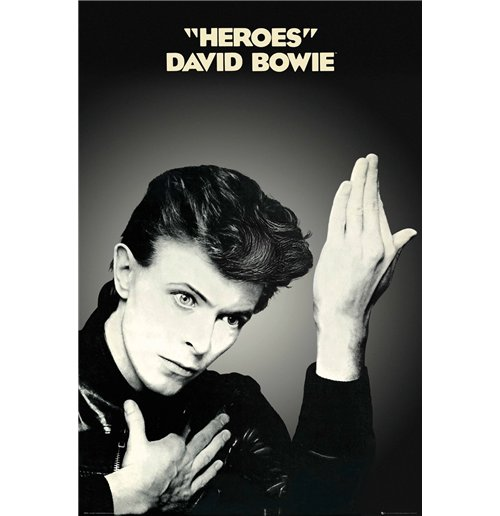Poster David Bowie - Heroes (Poster Maxi 61x91,5 Cm)