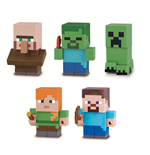 Minecraft Mine-Keshi Minifiguren 4 cm Character Box Sortiment (15)