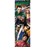 Poster Big Bang Theory - Comic - 53 x 158 cm