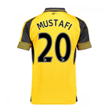 Trikot Arsenal 2016-2017 Away (Mustafi 20) - Kinder