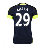Trikot Arsenal 2016-2017 Third (Xhaka 29) - Kinder