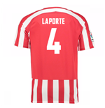 Trikot Athletic Bilbao 2016-2017 Home (Laporte 4)
