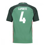 Trikot Athletic Bilbao 2016-2017 Away (Laporte 4)