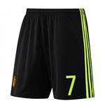 Shorts Belgien Fussball 2016-2017 Home
