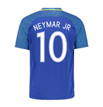 Trikot Brasilien Fussball 2016-2017 Away (Neymar JR 10)