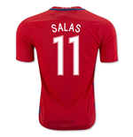Trikot Chile Fussball 2016-2017 Home (Salas 11) Kinder