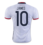 Trikot Kolumbia Fussball 2016-2017 Home (James 10)