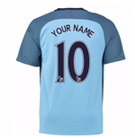 Trikot Manchester City FC 2016-2017 Home Personalisierbar