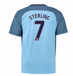 Trikot Manchester City FC 2016-2017 Home (Sterling 7)