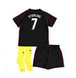 Mini-Set Manchester City FC 2016-2017 Away (Sterling 7) Baby