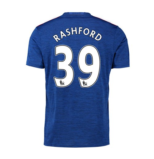 Trikot Manchester United FC 2016-2017 Away (Rashford 39) Kinder