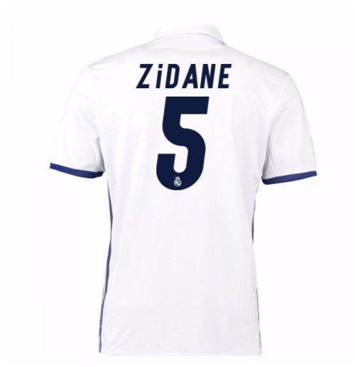 Trikot Real Madrid home 2016/17 (Zidane 5) - Kinder