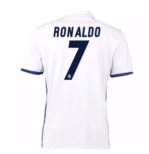 Barcelona 1 2 Real Madrid Vintage Ronaldo Silences The: Kaufe Trikot Real Madrid Home 2016/17 (Ronaldo 7)
