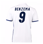 Trikot Real Madrid Home 2016/17 (Benzema 9)