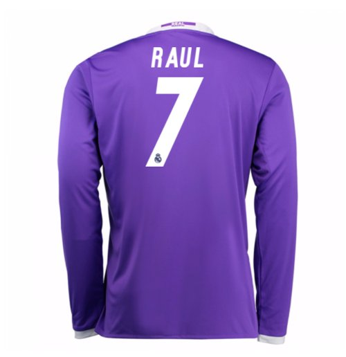 Trikot Real Madrid Away 2016/17 (Raul 7) - Kinder